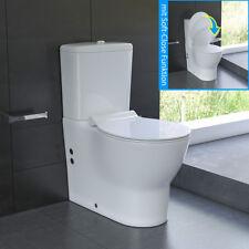 Design Stand-WC Toilette mit Spülkasten WC-Deckel mit Soft-Close Keramik WC Set