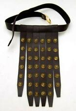 ROMAN SOLDIER Legionaire Centurion BELT Hanging APRON LEATHER STRIPS CINCULUM A