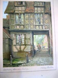 PHILIP EUSTACE STRETTON 1863-1930 PAIR OF SIGNED WATERCOLOUR PAINTINGS