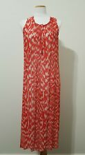 WITCHERY Red Patterned Maxi Dress, Size 8