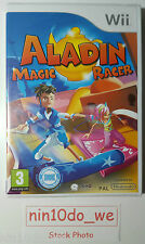 Aladin Magic Racer [Wii] *NEW* Balance Board Compatible RARE game-Foreign cover