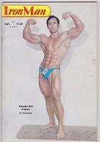 SEPT 1979 IRON MAN bodybuilding magazine - SALVADOR RUIZ
