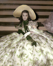 """VIVIEN LEIGH GONE WITH THE WIND 1939 ACTRESS 8x10"""" HAND COLOR TINTED PHOTOGRAPH"""