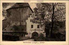 Wolkenstein Sachsen ~1920/30 Erzgebirge Partie Sächsisches Amtsgericht Schloss