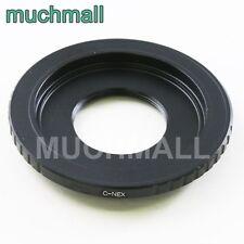 "C Mount 2/3"" Lens to Sony E Adapter NEX-5T 6 7 A7 II A7R A7S A5100 A6000 VG900"
