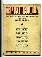 TEMPO DI SCUOLA#Mensile Ord. Medio/Superiore/Artistico-An.II-N.1#Novembre 1940
