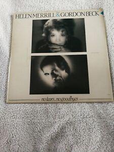HELEN MERRILL & GORDON BECK LP, NO TEARS NO GOODBYES, 1984
