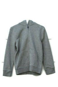 The Children's Place Gray Boys Sweatshirt Hoodie Front Full Zip Size Large