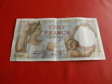 *Frankreich 100 Cent Francs Banknote 1942 (Alb3)(3)