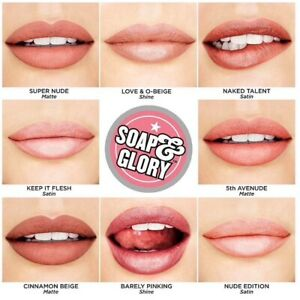 Soap&glory Mother Pucker Lipsticks Nude pinks Reds choose your shade