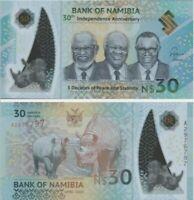 30 Dollars Polymere Namibia 2020 Commemorativ UNC