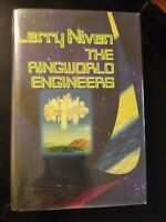The Ringworld Engineers by Larry Niven 1980 HCDJ First Edition/1st Print SIGNED
