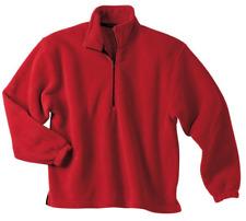 Port Authority Men's 1/4 Zip Pullover Fleece Jacket NEW JP78