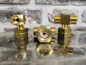 Doppelabzweigventil ,Gasverteiler ,Propan ,Gas Abzweigventil ,T Stück