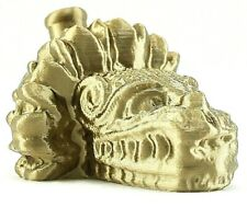 Aztec Quetzalcoatl Death Whistle Ancient Gold Feathered Serpent God Made In Usa