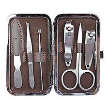 Nail Care 6 Piece Cutter Cuticle Clipper Manicure Pedicure Set