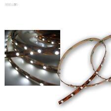 5m LED Lichtband kaltweiß 12V, SMD Streifen Band Lichtleiste flex Stripe white