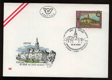 Austria 1988 800th Anniv Of Feldbach FDC #366
