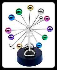 gioco cinetico magnetico moto perpetuo ruota biglie colorata per scrivania 22 cm