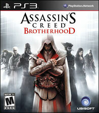 Assassin's Creed Brotherhood Black Label NEW factory sealed PlayStation 3