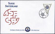 Switzerland-2004. FIFA 100th Anniversary. FDC