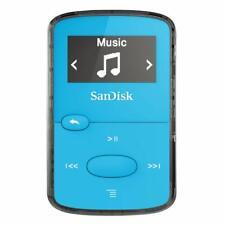 SanDisk 8GB Clip Jam MP3 Player Blue SDMX26-008G-G46B (Refurbished)