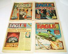 Eagle And Scream  #127-#130 4 Issue Lot 1984 IPC Magazines London Newsprint