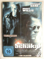 DER SCHAKAL - DVD - RICHARD GERE BRUCE WILLIS