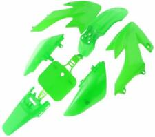 GREEN PLASTIC FENDER KIT XR50 CRF50 COOLSTER 70CC PIT DIRT BIKE I PS08