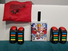 Buzz Quiz TV PS3 Complete Buzzers Dongle Free Fast Post Birthday Christmas Gift