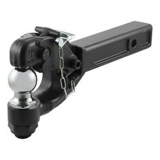 """CURT Ball & Pintle Hook for 2"""" Trailer Hitch Receiver 48007"""