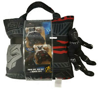 Marvel Black Panther 5pc Bed Set + Bonus Tote With Character Buddy Size Twin
