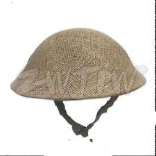 WWII UK ARMY EARLY WORLD WAR 2 MK2 BRITISH TOMMY STEEL HELMET NET COVER
