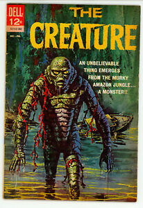 JERRY WEIST ESTATE: THE CREATURE #12-142-302 (Dell 1963) VG+ condition 1st ed NR