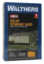 N Walthers Cornerstone 933-3230 * Co-op Storage Shed kit * NIB