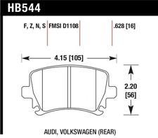 Hawk for 06 Audi A6 Quattro Avant/06-09 A6 Quattro HT-10 Rear Brake Pads - hawkH