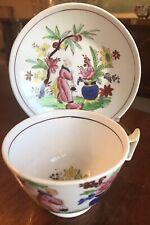 New listing Antique English Porcelain Tea Cup & Saucer