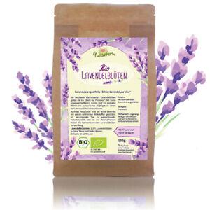 Naturherz BIO Lavendel Blüten getrocknet essbar lavandinfrei Aromatherapie Tee