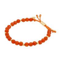 Gorjana Power Gemstone Orange Agate Beaded Bracelet For Confidence 17120537GPKG