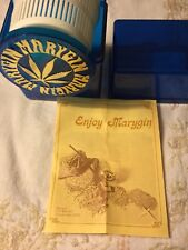 Vintage/new Tabacco Marygin Seed Cleaner Ur choice either Red,blue,green,clear