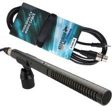 Rode NTG-2 Richtmikrofon NTG2 Mikrofon + MC-008XJ 3m Mikrofonkabel XLR - 3,5mm