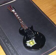 NEW Black ESP KH-3 Spider & Skull Kirk Hammett Metallica Miniature Guitar nStand
