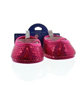 Build-A-Bear Shoes Sequin Flat Shoes Teddy Bear Accessories, Fuschia 024355