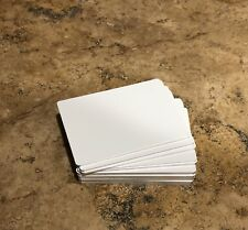 "50ea Gloss White Aluminum Dye Sublimation playing cards 2.5""x3.5"""