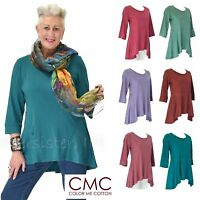 CMC by COLOR ME COTTON USA  3218  Supima Jersey FLATTER SEAM TUNIC Top 2017 FALL