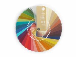Fächer-Farbpass Color Swatch Fan Warm Autumn für die Farbberatung
