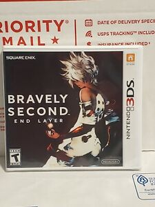 Bravely Second: End Layer (Nintendo 3DS, 2016) New & Sealed