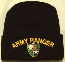 US ARMY 75TH RANGER REGIMENT SPECIAL OPERATIONS FORCE UNIT BEANIE WATCH CAP HAT