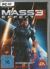 Mass Effect 3 (PC, 2012, seule la Origin Key Download Code) pas de DVD, seulement Origin