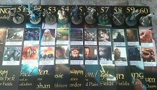 LOTR Collectors Models Issues #51-60 Inc Magazines & Base Eaglemoss LOT of 10